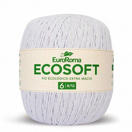 Barbante Ecosoft Euroroma - 8/12 | 452m Cor 200 - Branco