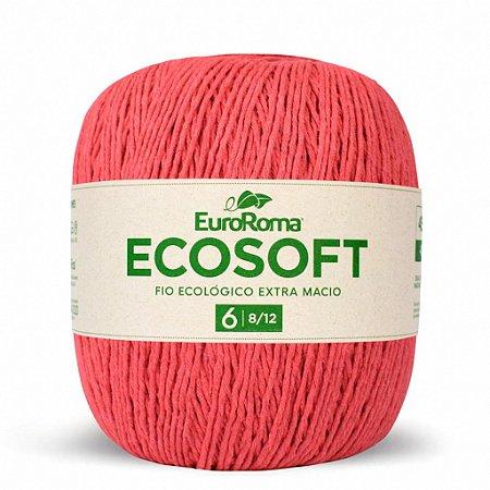 Barbante Ecosoft Euroroma - 8/12 | 452m Cor 1070 - Melancia