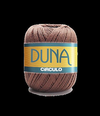 Linha Duna 100g Círculo - Cor 7738 - CAFÉ