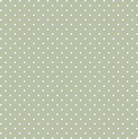 Tecido Tricoline Estampado Poá Verde 100% Algodão Peripan - COR 110 - 1,00x1,50m