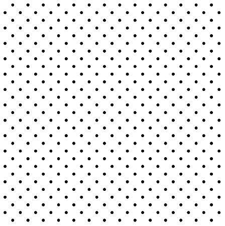 Tecido Tricoline Estampado Poá Branco 100% Algodão Peripan - COR 111 - 1,00x1,50m