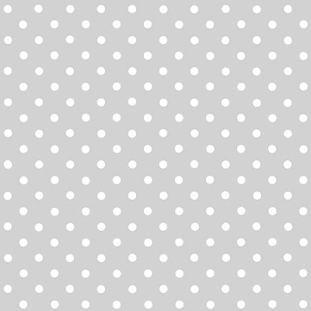 Tecido Tricoline Estampado Poá Cinza 100% Algodão Peripan - COR 118 - 1,00x1,50m