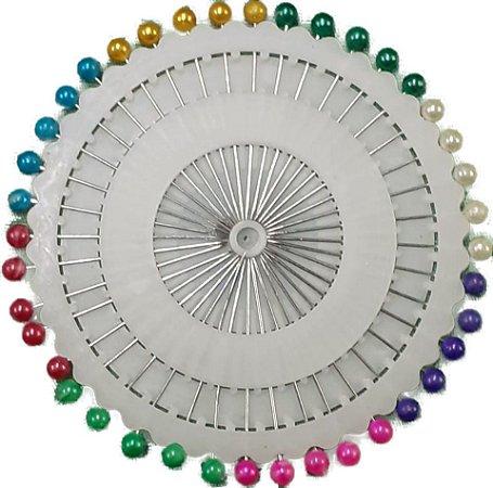 Disco de Alfinete Cabeça de Plástico - 40 Alfinetes