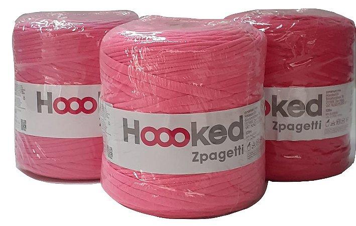 Fio de Malha Hooked Zpagetti - Tons de Rosa - Unidade