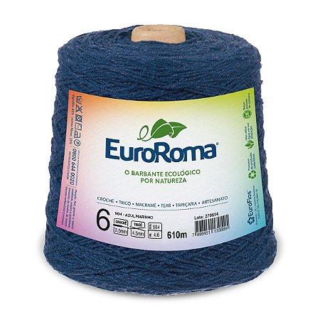 Barbante Euroroma 6 600g - Azul Marinho - 904