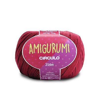 Fio Amigurumi 254m Círculo - Cor 7136 - MARSALA