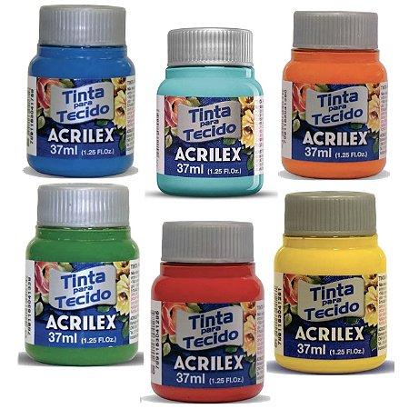 Tinta Para Tecido Fosca Acrilex - 37g
