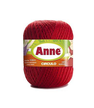 Linha Anne 500 Circulo - Cor 3583 - CEREJA