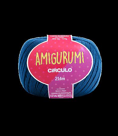 Fio Amigurumi 254m Círculo - Cor 2770 - AZUL CLÁSSICO