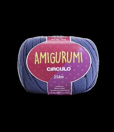 Fio Amigurumi 254m Círculo - Cor 2931 - NÁUTICO