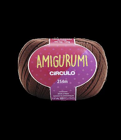 Fio Amigurumi 254m Círculo - Cor 7569 - BRIGADEIRO
