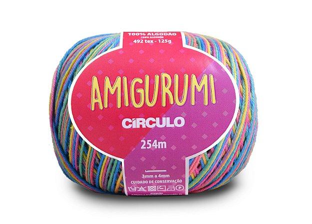 Fio Amigurumi 254m Círculo - Cor 9534* - UNICÓRNIO