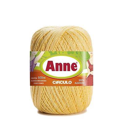 Linha Anne 500 Circulo - Cor 1317 - SOLAR