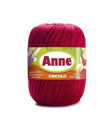 Linha Anne 500 Circulo - Cor 3635 - PAIXÃO