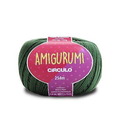Fio Amigurumi 254m Círculo - Cor 5398 - MUSGO