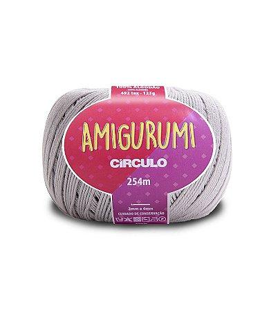 Fio Amigurumi 254m Círculo - Cor 8008 - PEDREIRA
