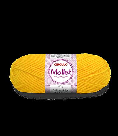 Lã Mollet 40g Cor - 1289 - SOLAR