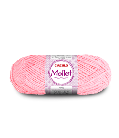 Lã Mollet 40g Cor - 3027 - IOGURTE