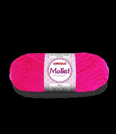 Lã Mollet 40g Cor - 385 - PINK