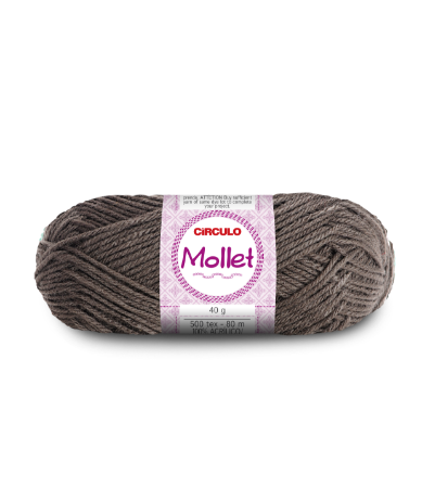 Lã Mollet 40g Cor - 7417 - CHUMBO