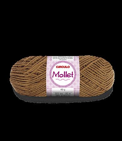 Lã Mollet 40g Cor - 7447 - AVELÃ