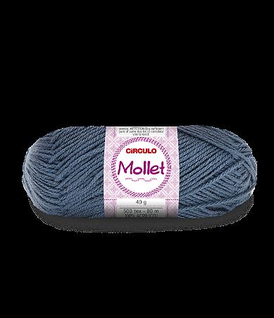 Lã Mollet 40g Cor - 8860 - NOTURNO