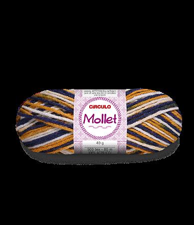 Lã Mollet 40g Cor - 9471 - TORONTO