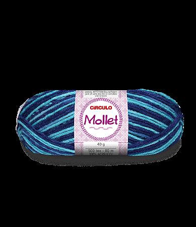 Lã Mollet 40g Cor - 9533 - CURAÇAU