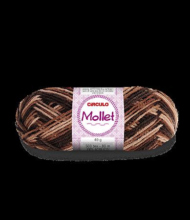 Lã Mollet 40g Cor - 9601 - CAPUCCINO