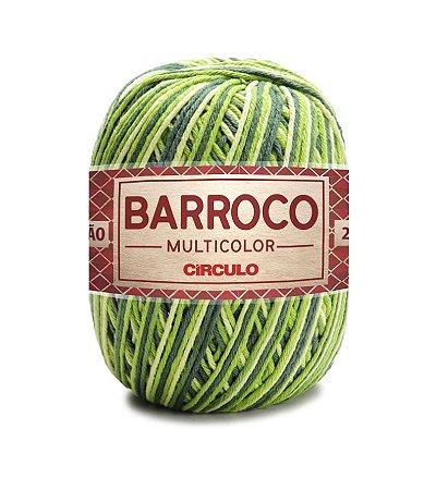 Barbante Barroco Multicolor N.6 200g Cor 9536 - GRAMADO