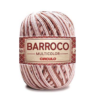 Barbante Barroco Multicolor N.6 200g Cor 9360 - CAFÉ