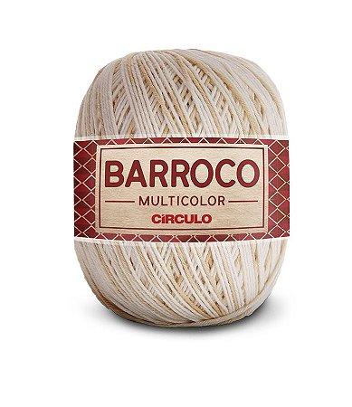 Barbante Barroco Multicolor N.6 200g Cor 9900 - AREIA