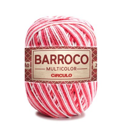 Barbante Barroco Multicolor N.6 200g Cor 9202 - ANTÚRIO
