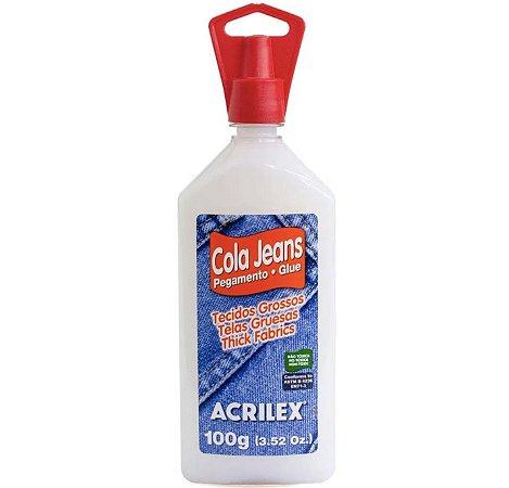 Cola Jeans Acrilex - 100g
