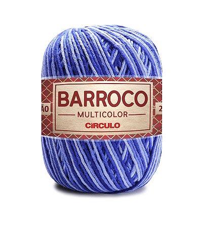 Barbante Barroco Multicolor N.6 200g Cor 9172 - AMULETO