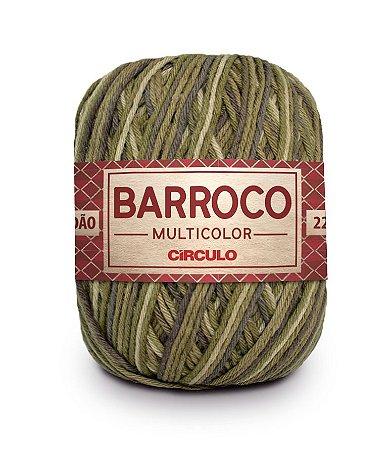 Barbante Barroco Multicolor N.6 200g Cor 9935 - FOLHA DE LOURO
