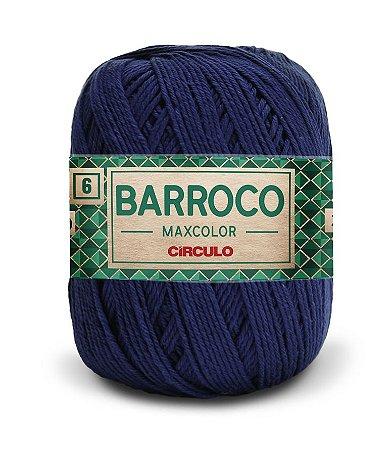 Barroco Maxcolor Nº 6 200g Cor 2856 - ANIL PROFUNDO