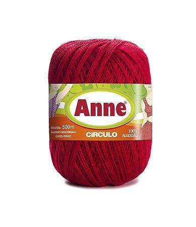 Linha Anne 500 Circulo - Cor 3528 - CARMIM