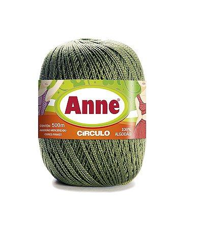 Linha Anne 500 Circulo - Cor 5368 - MILITAR