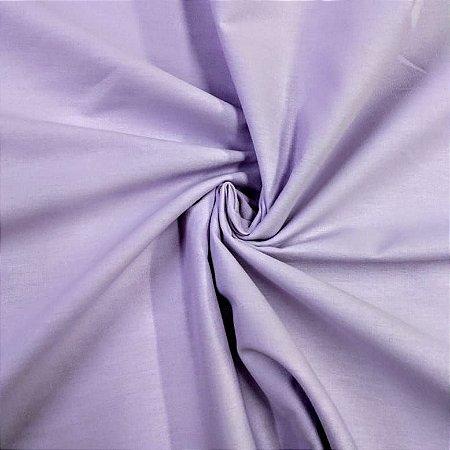 Tecido Tricoline Liso Lilás 100% Algodão - 1,00x1,50m