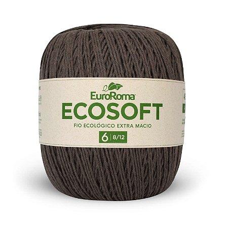Barbante Ecosoft Euroroma - 8/12 | 452m Cor 1100 - Marrom