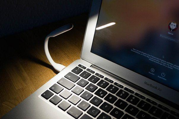 Mini LED luz lâmpada para teclado de notebook USB portátil dobrável Multiuso