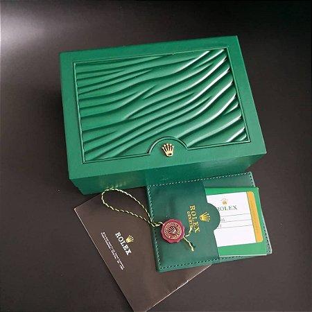 BOX ESTOJO PARA RELÓGIOS ROLEX - YUG6LVJK2