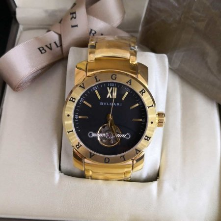 BVLGARI DISPLAY BLACK TURBILION - 69XWFZTBG
