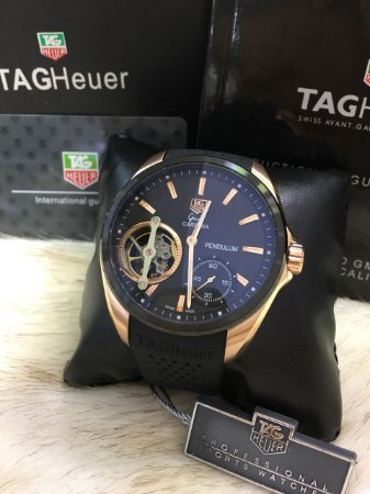 TAG HEUER PENDULUM BLACK GOLD - M736PBJSH
