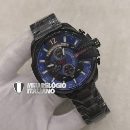 9ae8aab5ab920 RELÓGIO DIESEL 10BAR - Meu Relógio Italiano