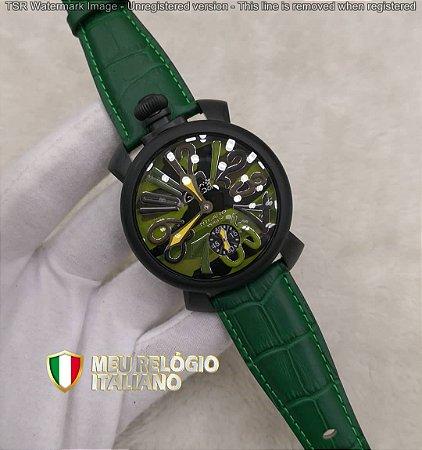 GAGA MILANO CLASSIC VERDE BLACK - 7FQ339Y75