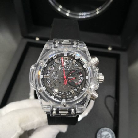 HUBLOT KING POWER TRANSPARENTE - Y9V7HASKG