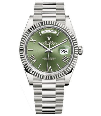 ROLEX DAY-DATE GREEN - NU7BVY279