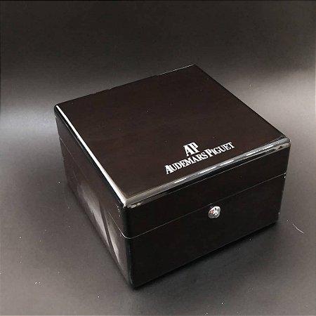 BOX ESTOJO OFICIAL AUDEMARS PIGUET COM MANUAL E CERTIFICADOS - D443ULU4S